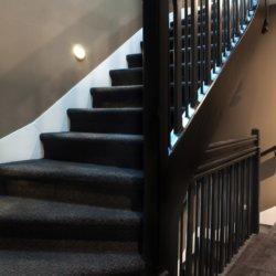 Hôtel Les Terres Blanches - escalier